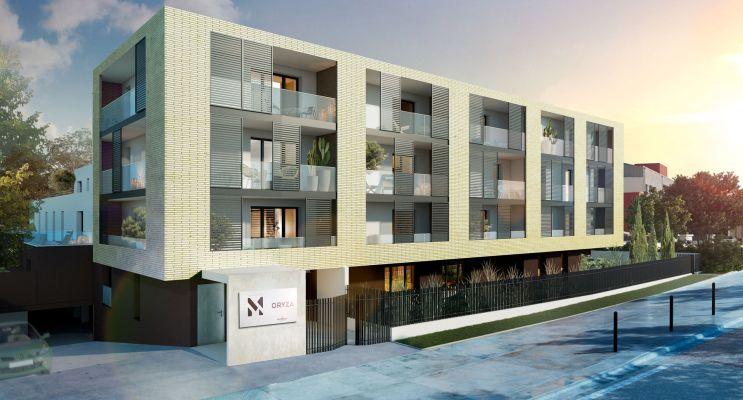 Résidence « Oryza » programme immobilier neuf en Loi Pinel à Toulouse n°1