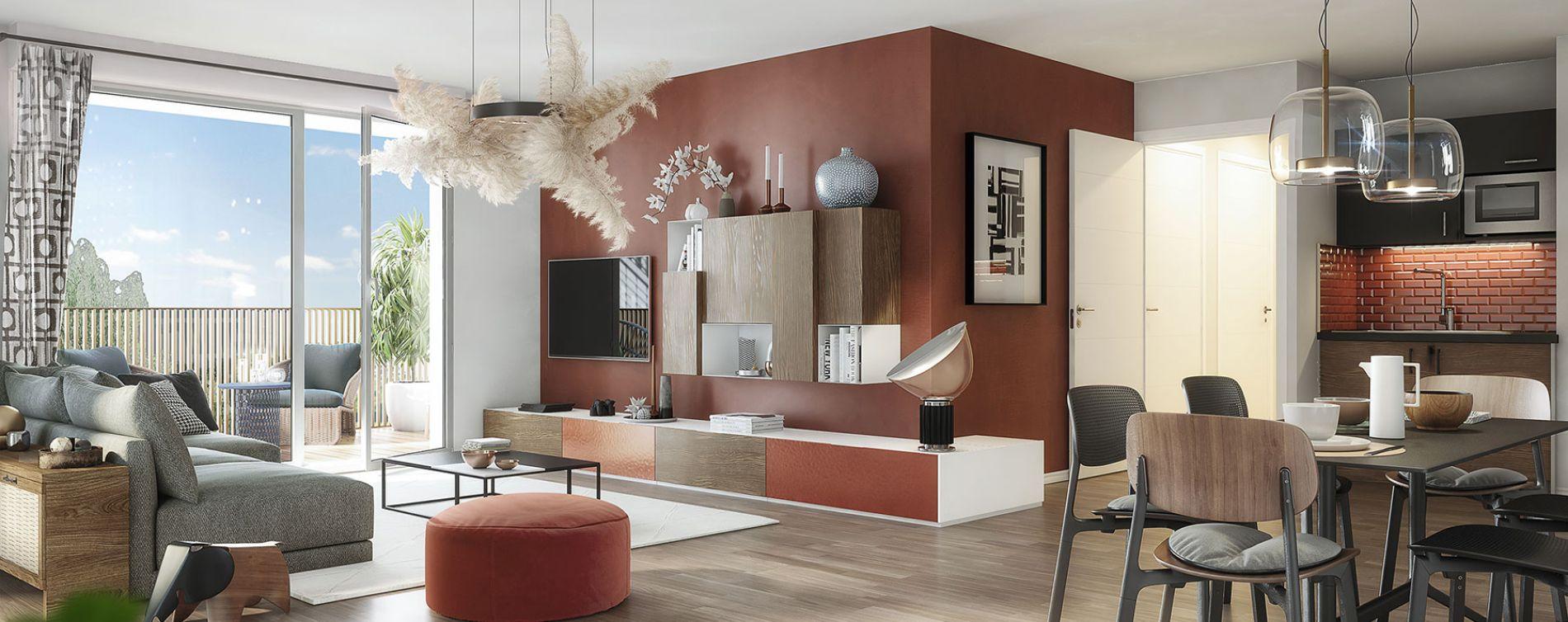Toulouse : programme immobilier neuve « Oxygen » en Loi Pinel (3)