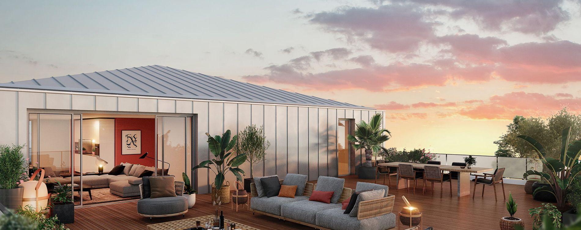 Toulouse programme immobilier neuve « Parc du Vallon »