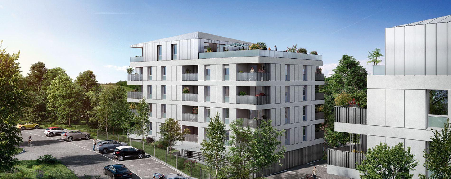 Toulouse : programme immobilier neuve « Parc du Vallon » en Loi Pinel (2)