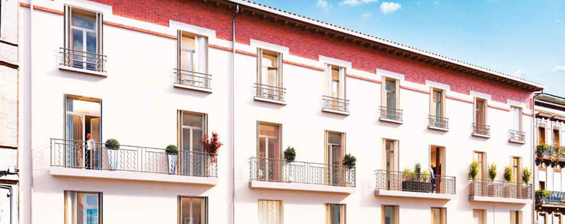 Résidence Patio Roquelaine à Toulouse