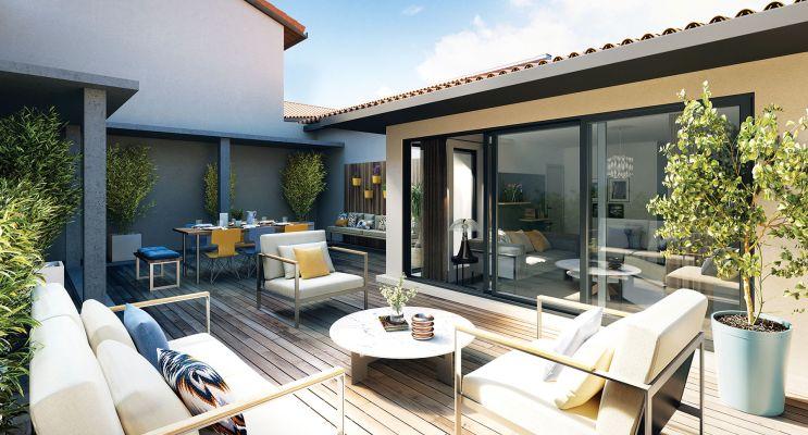 Résidence « Patio Roquelaine » programme immobilier à rénover en Loi Pinel ancien à Toulouse n°3