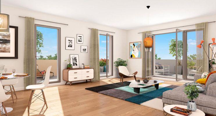 Photo n°2 du Résidence « Pavillon 32 » programme immobilier neuf en Loi Pinel à Toulouse