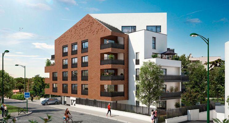 Photo du Résidence « Plaza Garonne » programme immobilier neuf en Loi Pinel à Toulouse