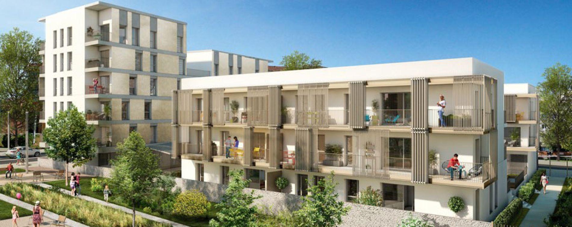 Jardinerie Pas Cher Toulouse promenades saint-martin à toulouse programme neuf réf 213472