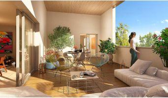 Toulouse programme immobilier neuf « Rive du Parc » en Loi Pinel