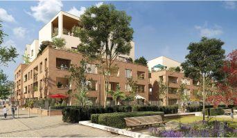 Toulouse programme immobilier neuve « Rive du Parc » en Loi Pinel  (2)