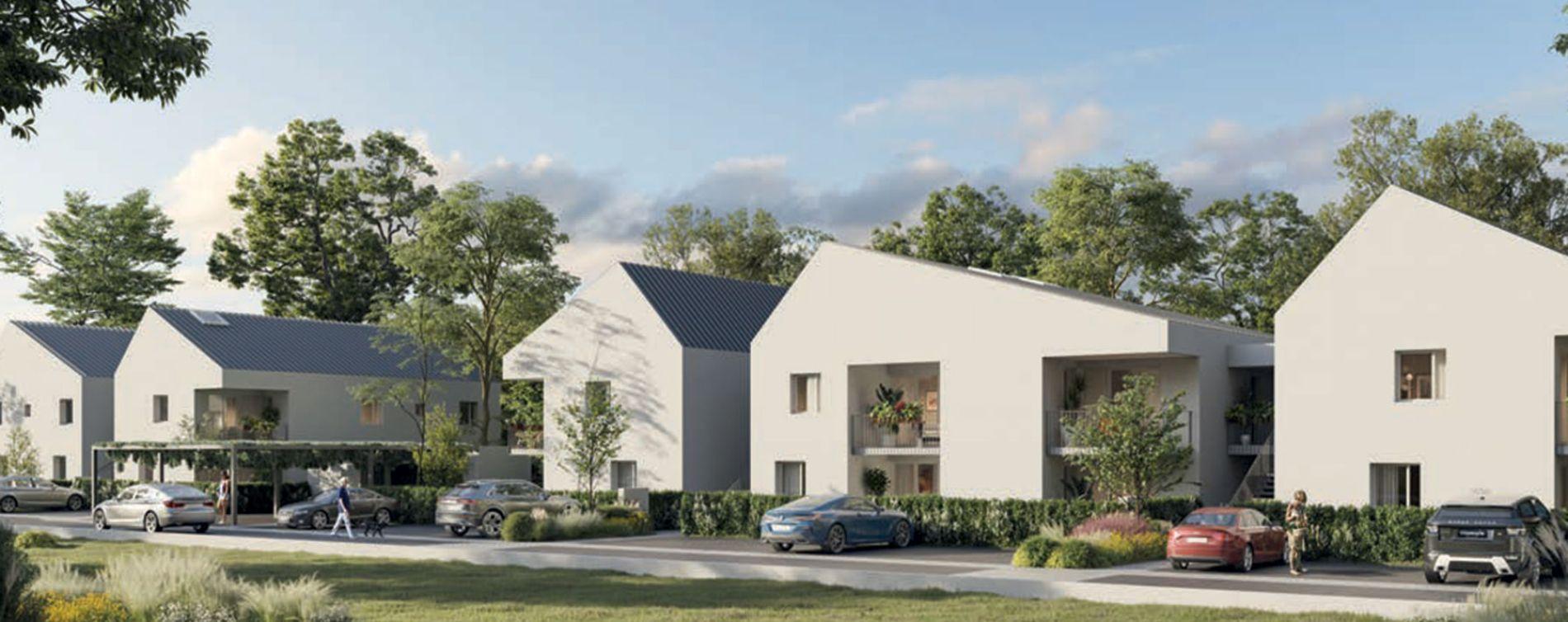 Toulouse : programme immobilier neuve « Skyline 2 » en Loi Pinel