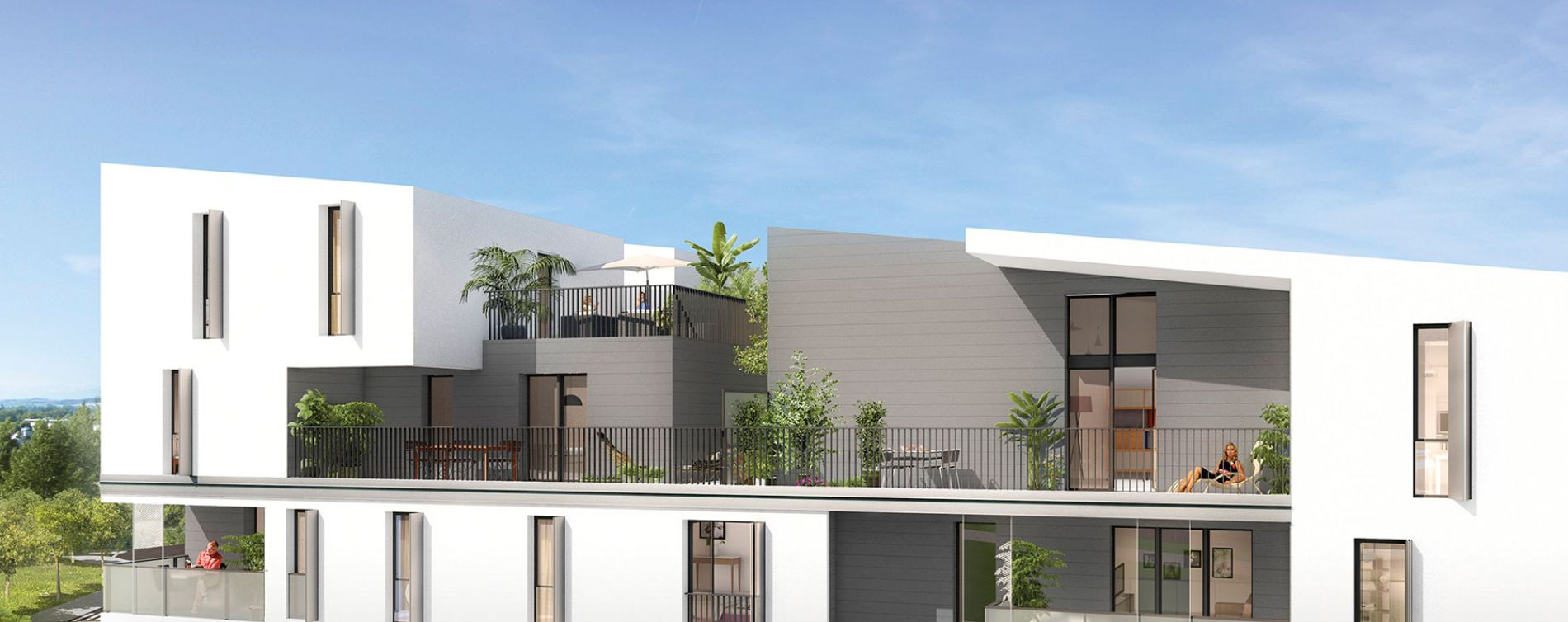 Toulouse : programme immobilier neuve « Skyview » (4)