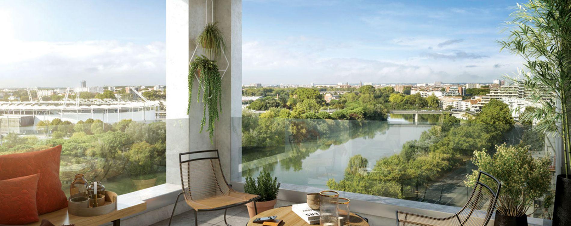 Toulouse : programme immobilier neuve « SO City » en Loi Pinel
