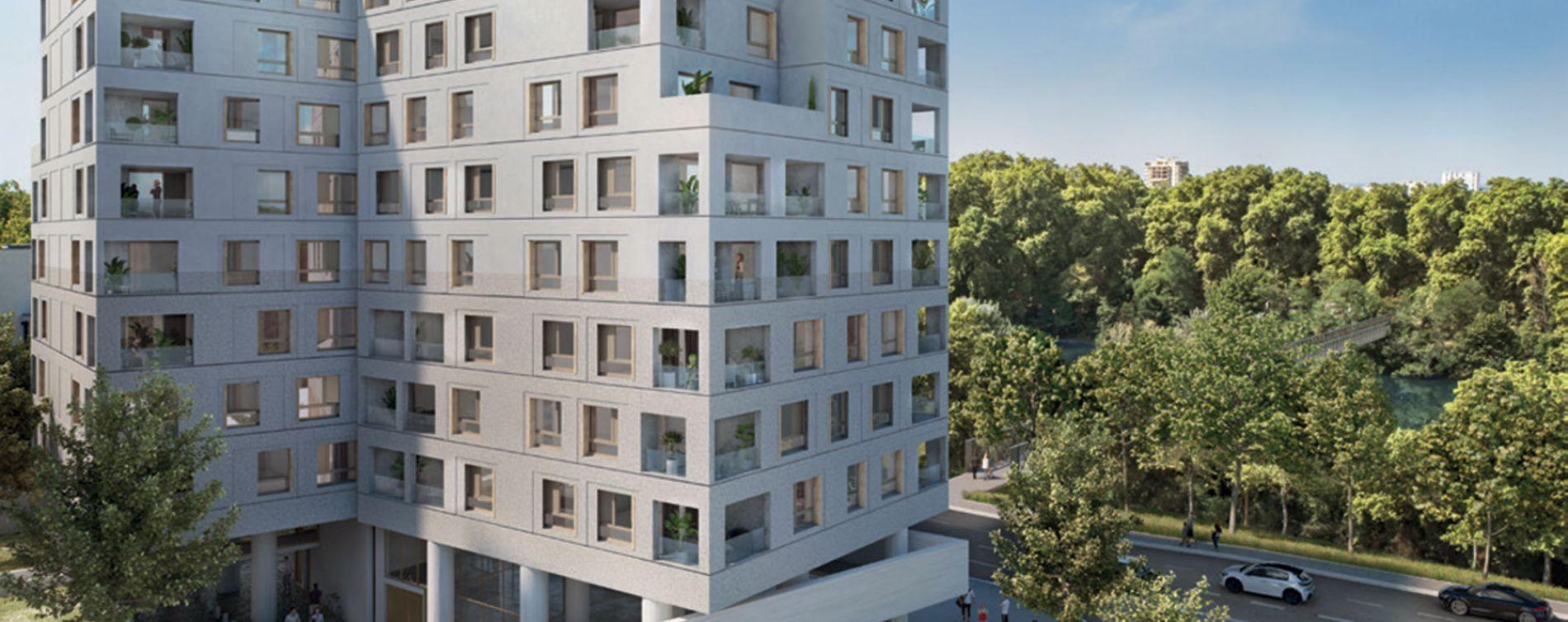 Toulouse : programme immobilier neuve « SO City » en Loi Pinel (2)