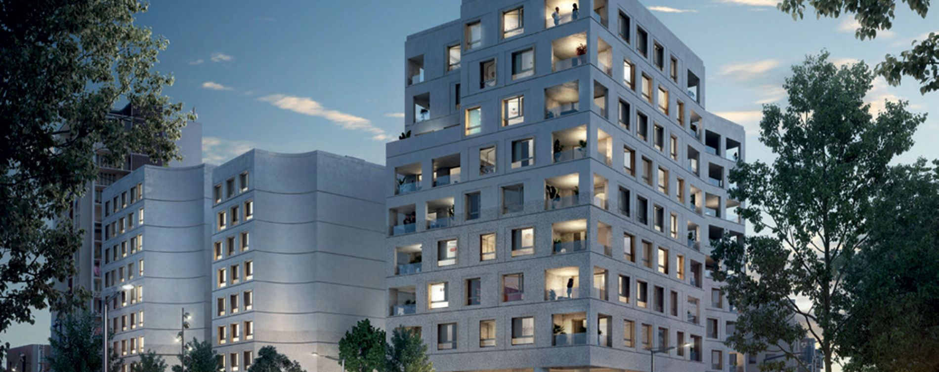 Toulouse : programme immobilier neuve « SO City » en Loi Pinel (3)