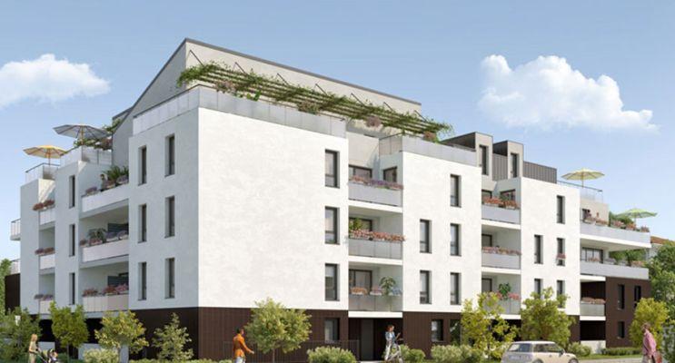 Résidence « Symphonie » programme immobilier neuf en Loi Pinel à Toulouse n°1
