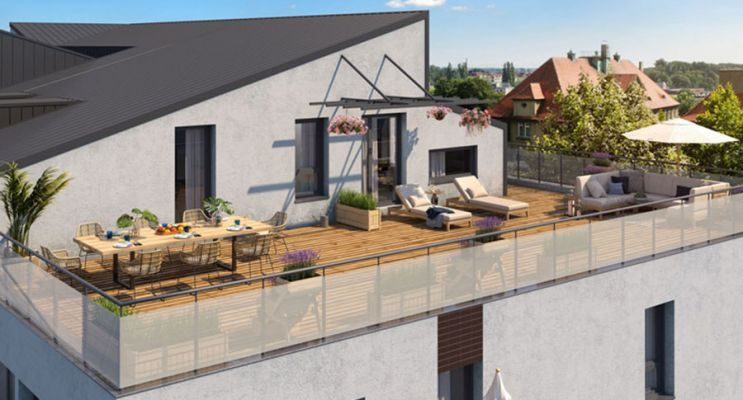 Résidence « Symphonie » programme immobilier neuf en Loi Pinel à Toulouse n°2