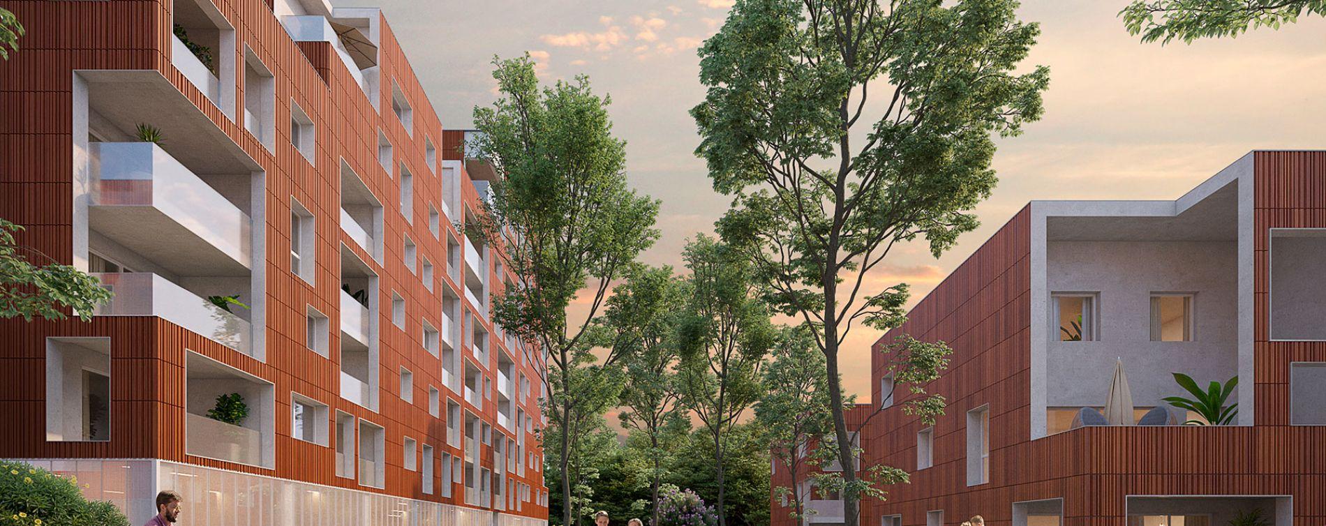 Toulouse : programme immobilier neuve « Tempo » (2)