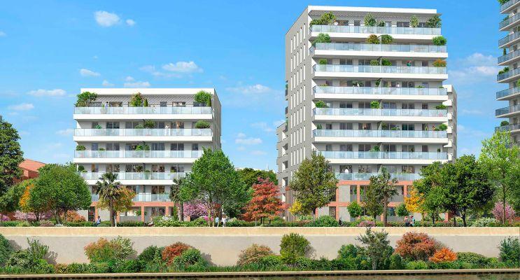 Toulouse : programme immobilier neuf « Terre Garonne » en Loi Pinel