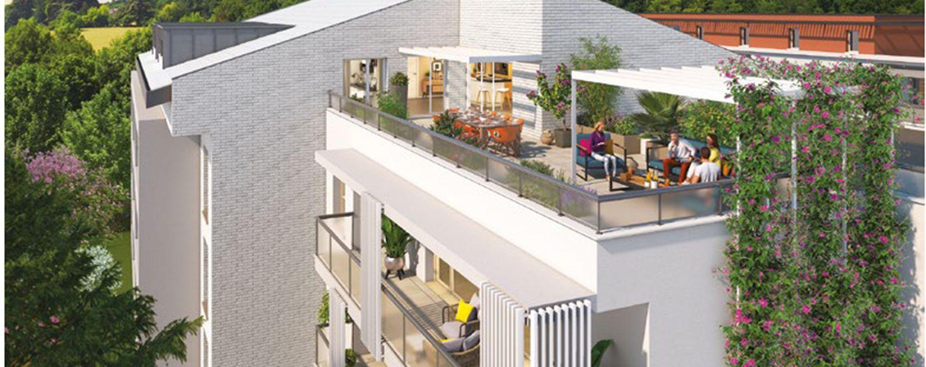 Toulouse : programme immobilier neuve « Une Pause en Ville »