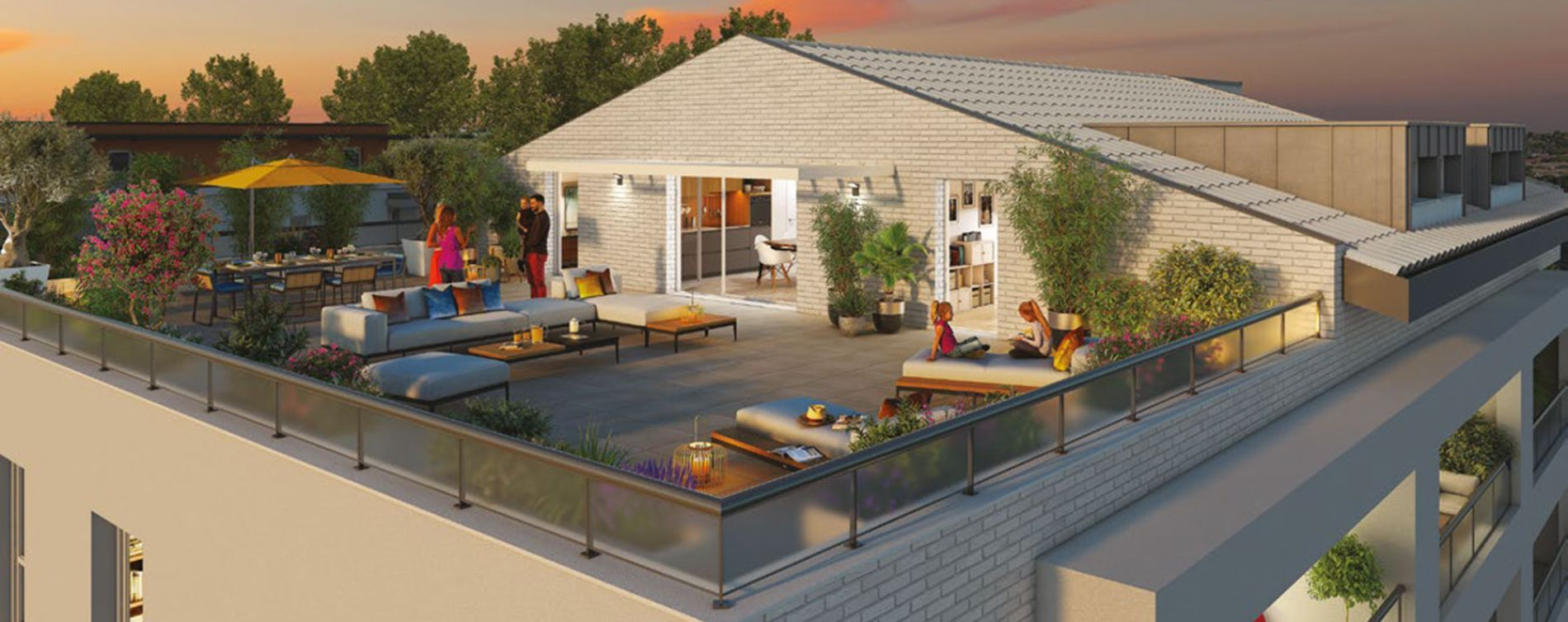Toulouse : programme immobilier neuve « Une Pause en Ville » (2)