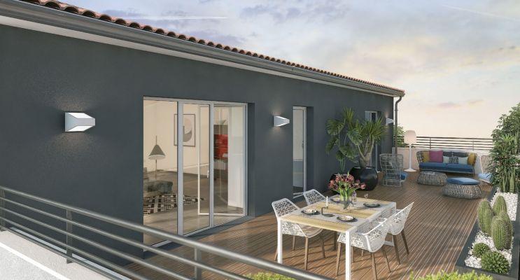 Photo du Résidence « Up City » programme immobilier neuf en Loi Pinel à Toulouse