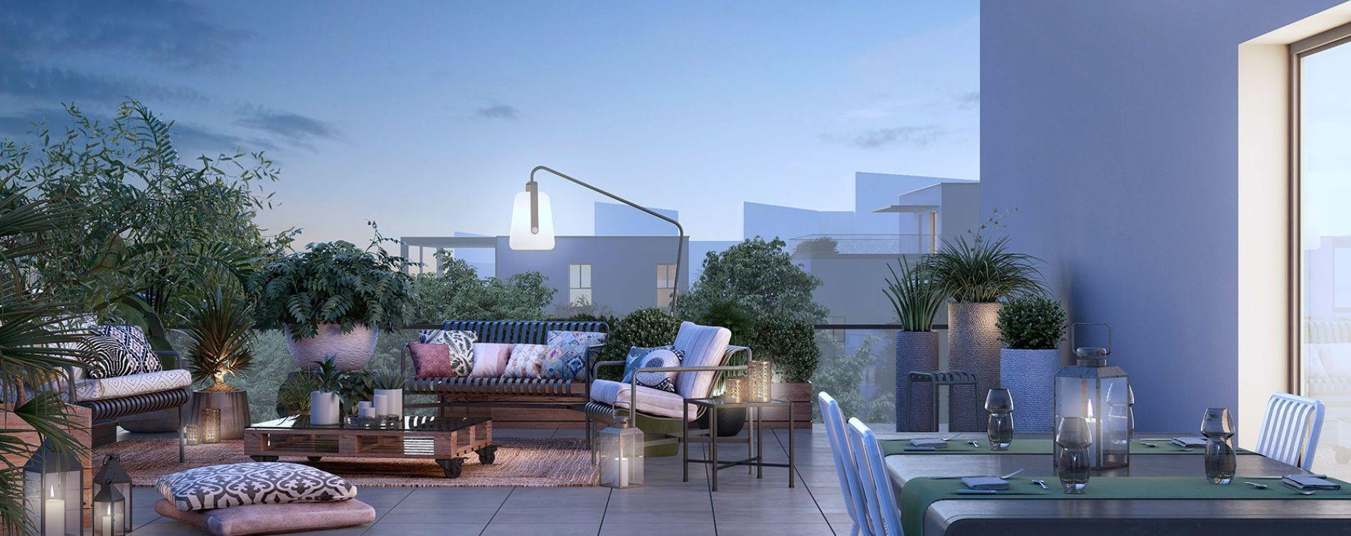 Toulouse : programme immobilier neuve « Urban Garden » en Loi Pinel