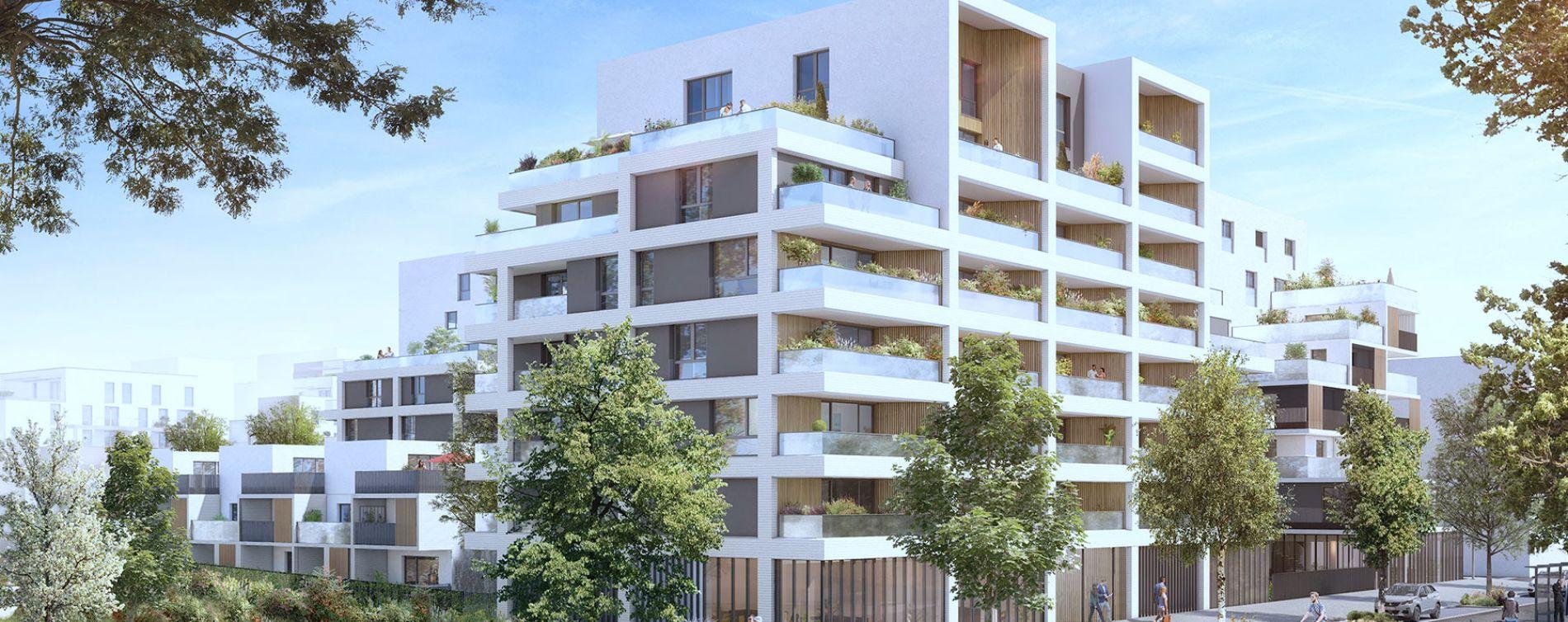 Toulouse : programme immobilier neuve « Urban Garden » en Loi Pinel (2)