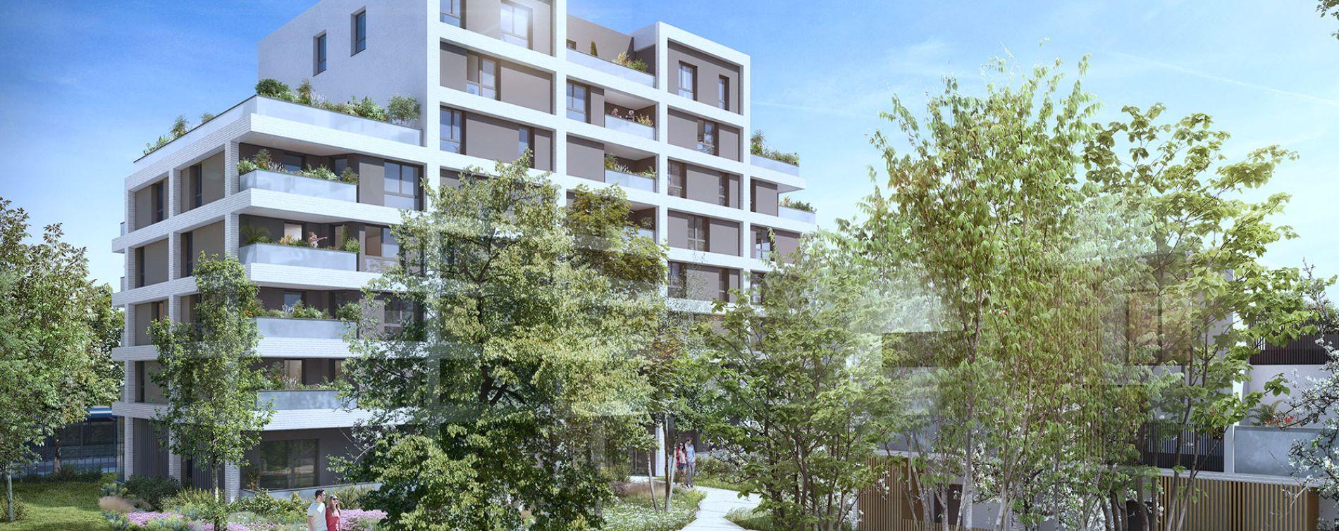 Toulouse : programme immobilier neuve « Urban Garden » en Loi Pinel (3)