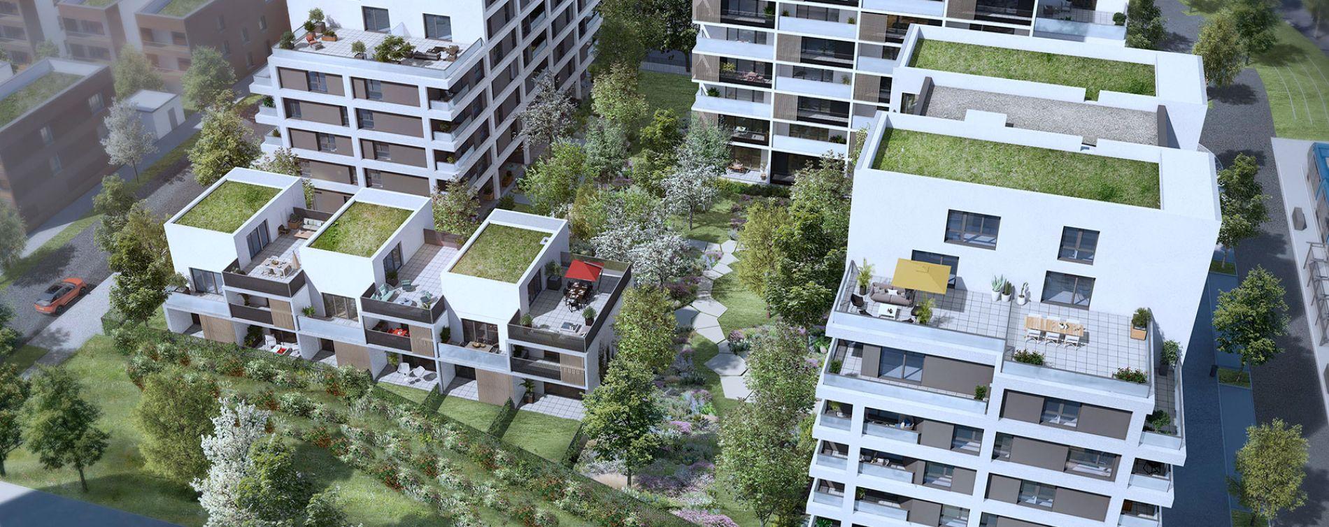 Toulouse : programme immobilier neuve « Urban Garden » en Loi Pinel (4)