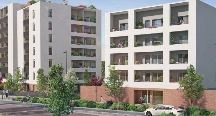 Photo du Résidence « Variations » programme immobilier neuf à Toulouse
