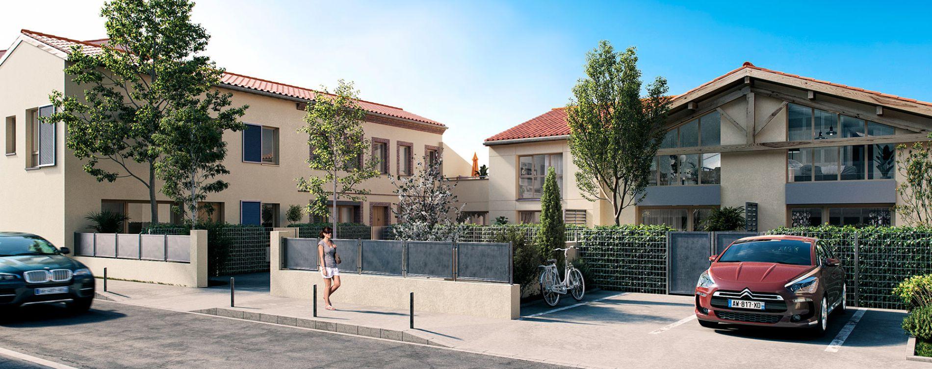 Toulouse : programme immobilier neuve « Villa Bonnefoy »