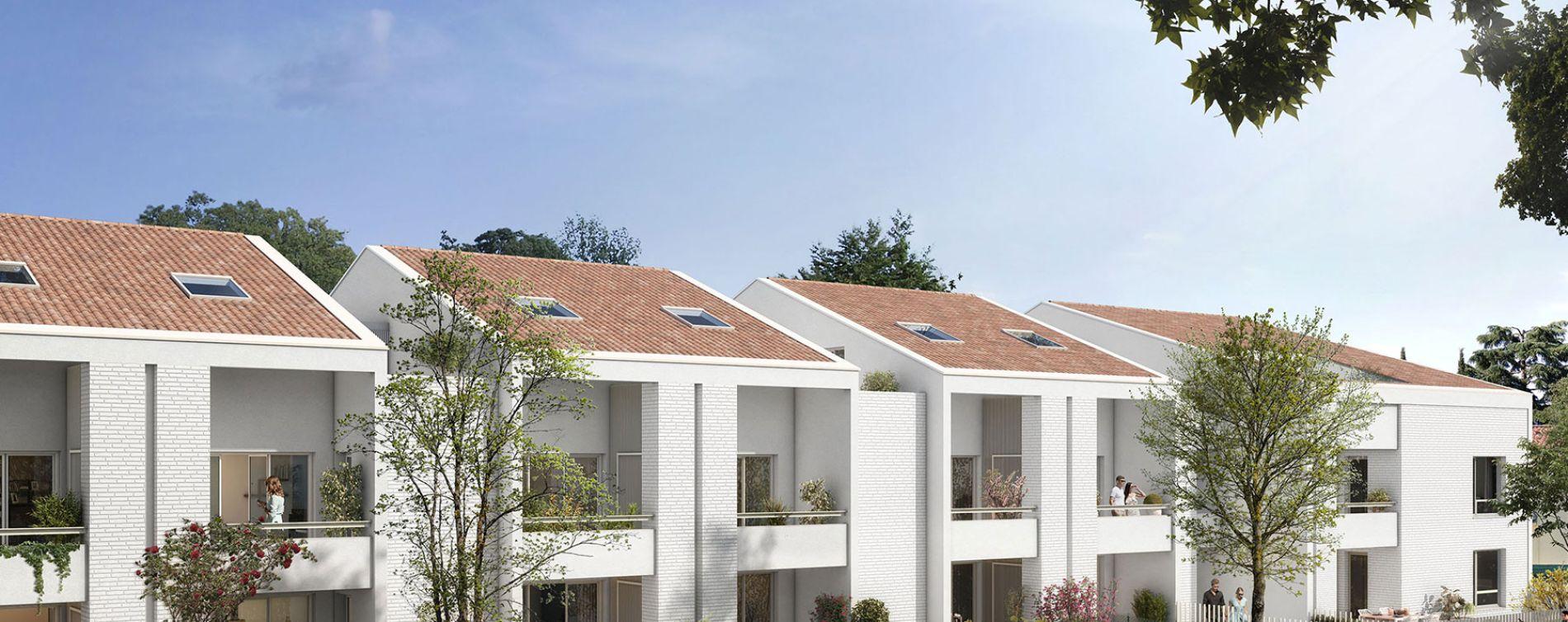 Toulouse : programme immobilier neuve « Villa Gaïa » en Loi Pinel