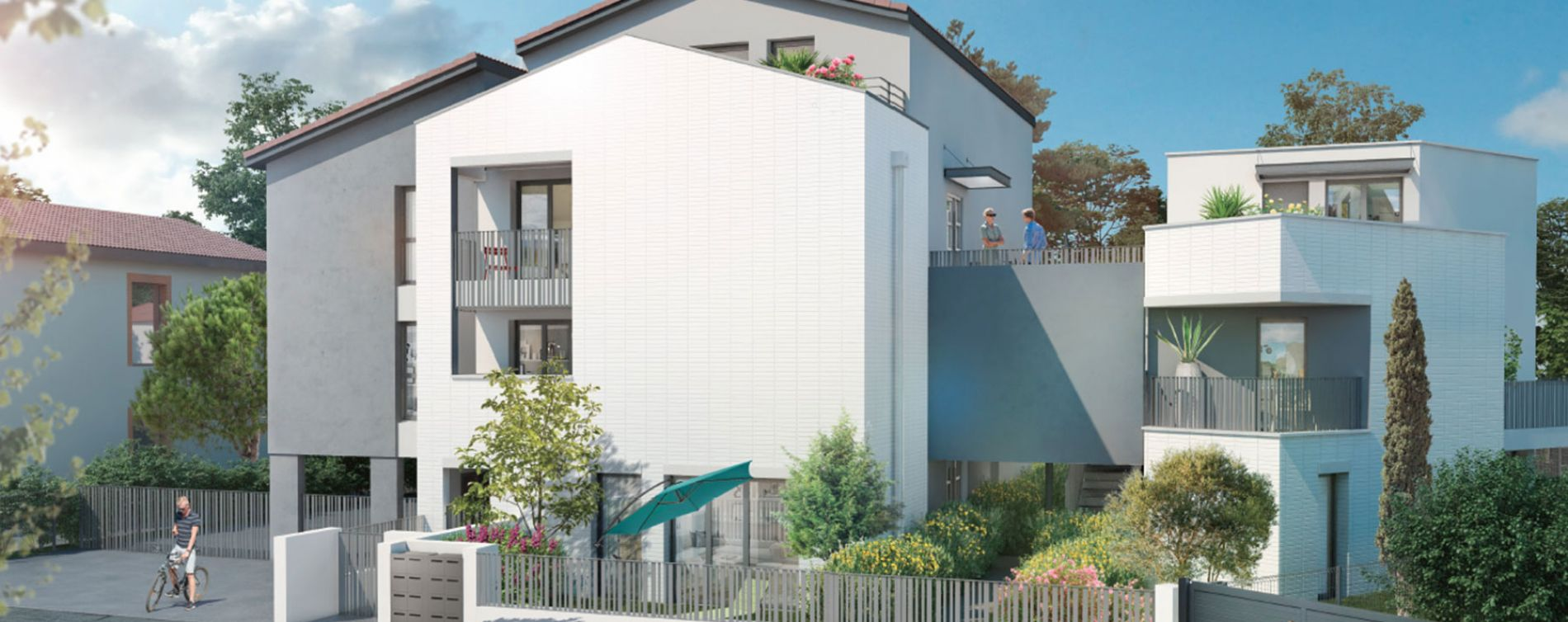 Toulouse : programme immobilier neuve « Villa Mélia » en Loi Pinel