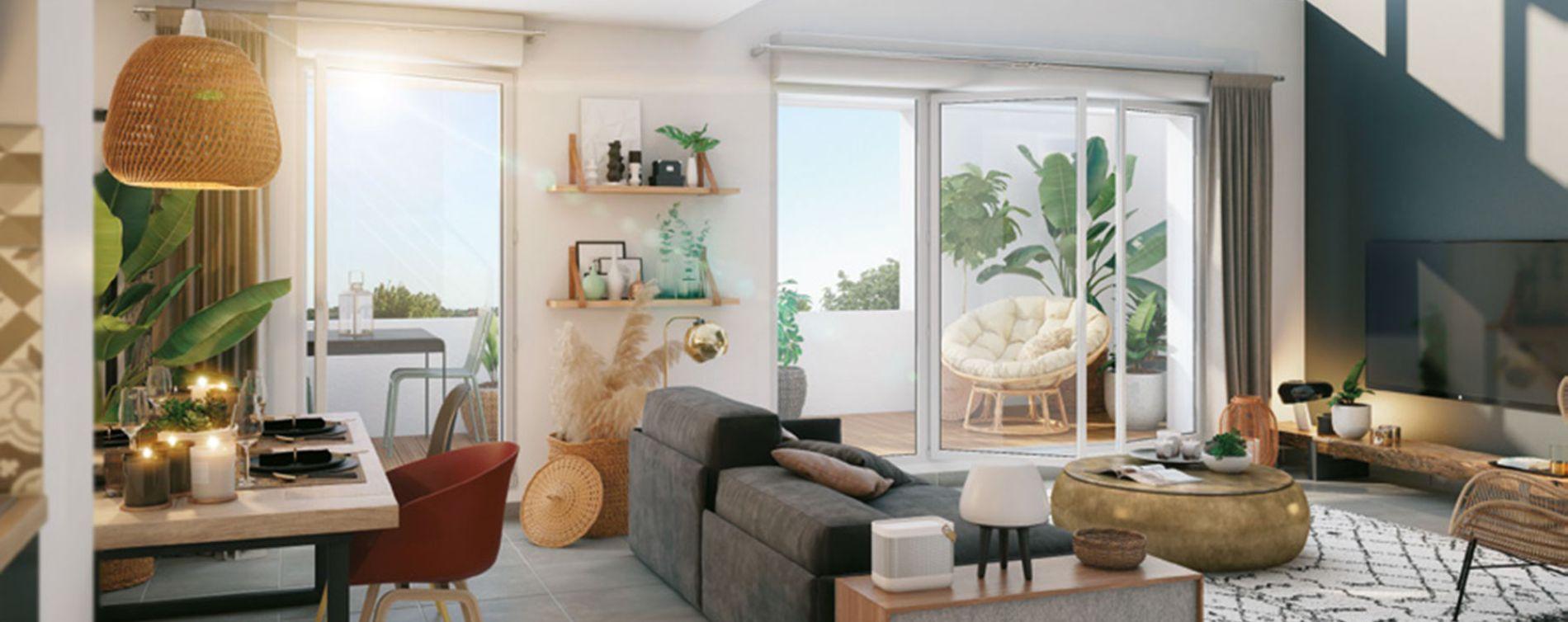 Toulouse : programme immobilier neuve « West Side » en Loi Pinel (2)