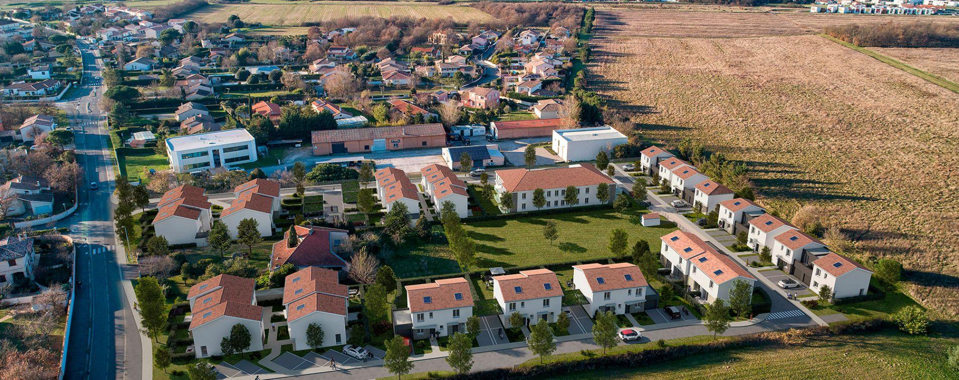 Tournefeuille : programme immobilier neuve « Domaine de Fages » (4)