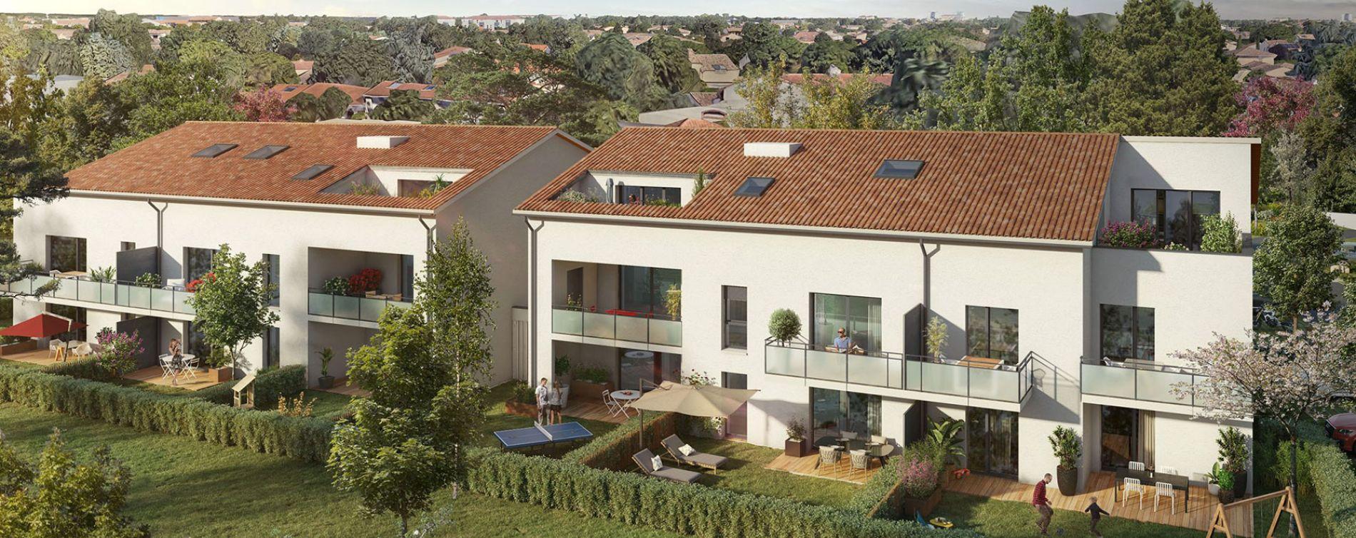 Tournefeuille : programme immobilier neuve « Peaks » en Loi Pinel