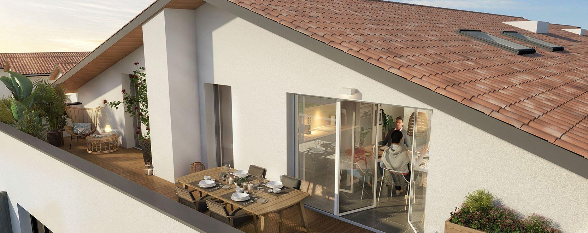 Tournefeuille : programme immobilier neuve « Peaks » en Loi Pinel (5)