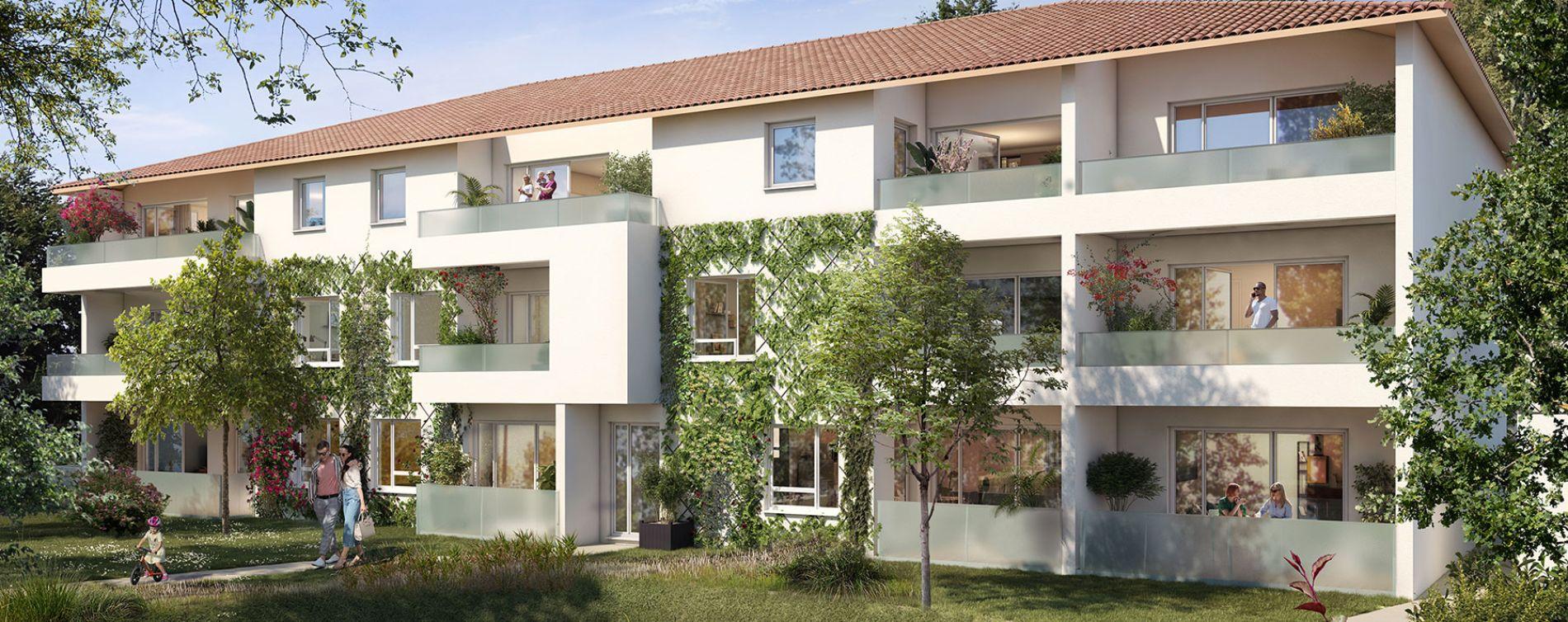 Villeneuve-Tolosane : programme immobilier neuve « Broceliande » en Loi Pinel