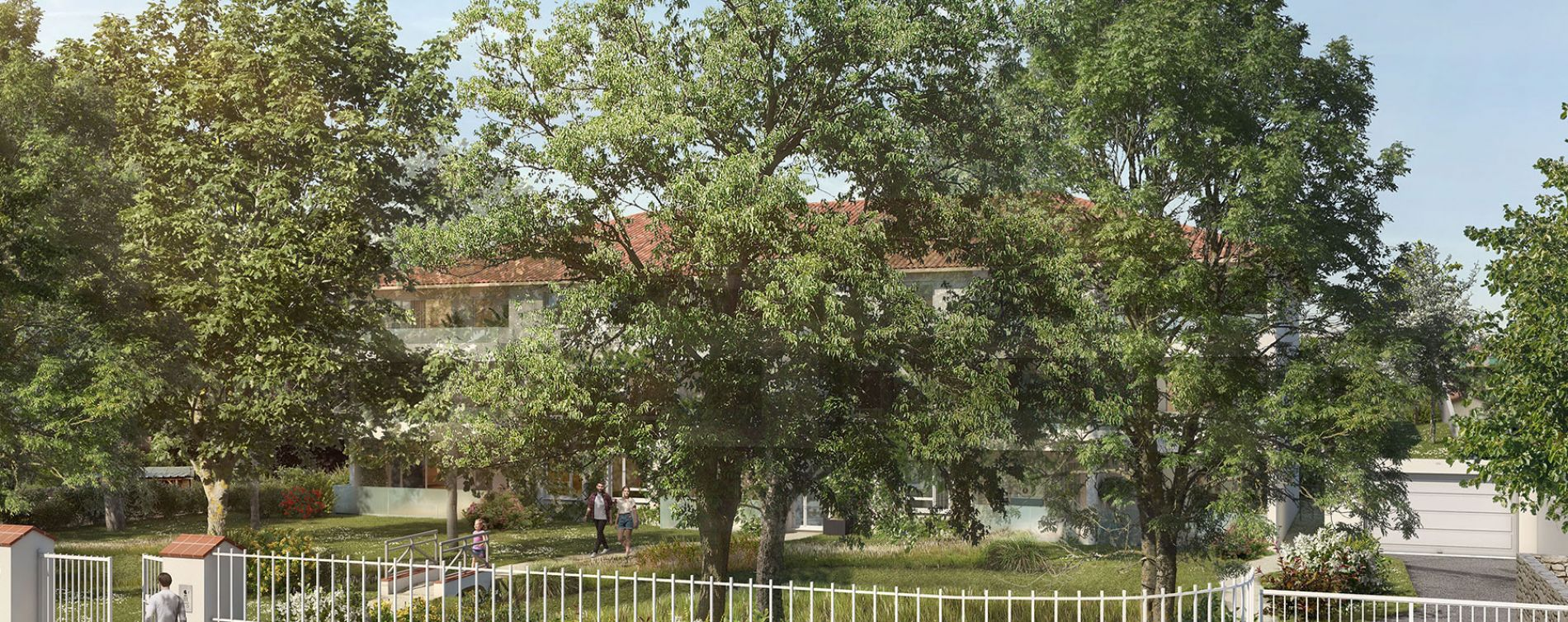 Villeneuve-Tolosane : programme immobilier neuve « Broceliande » en Loi Pinel (2)