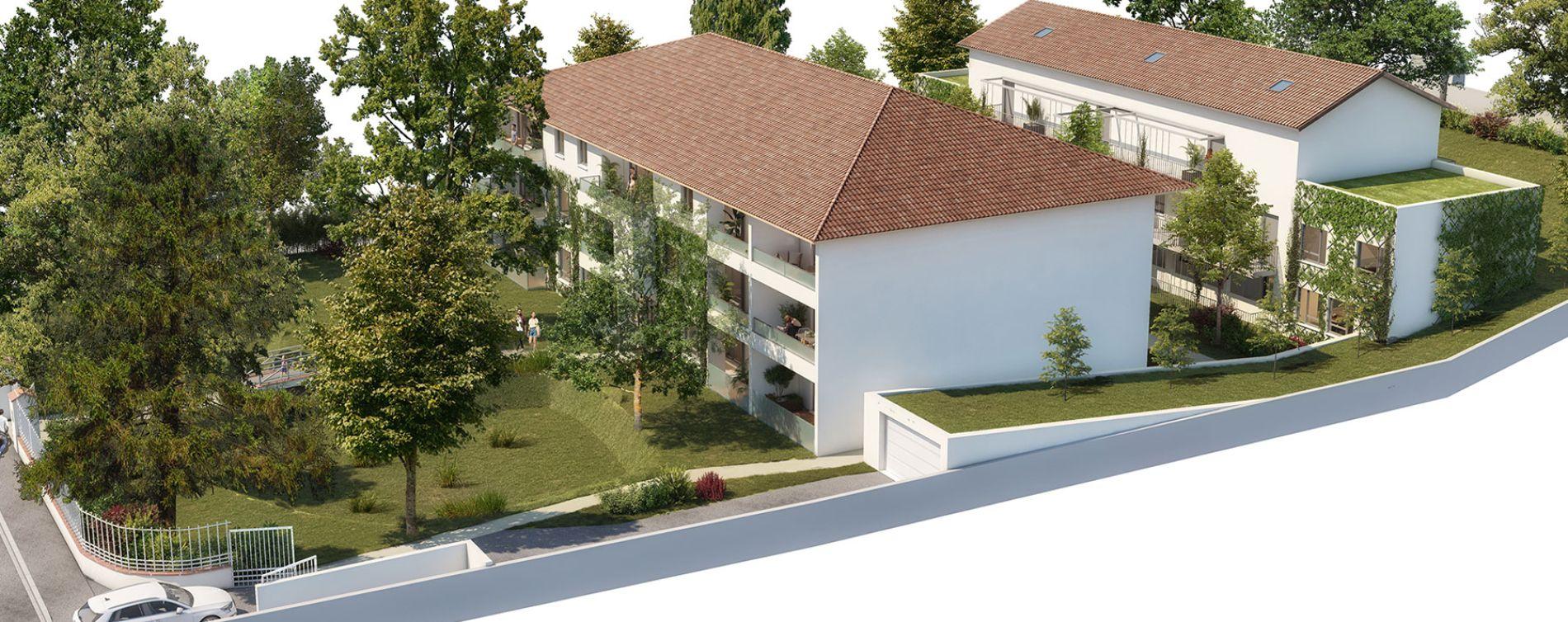 Villeneuve-Tolosane : programme immobilier neuve « Broceliande » en Loi Pinel (3)
