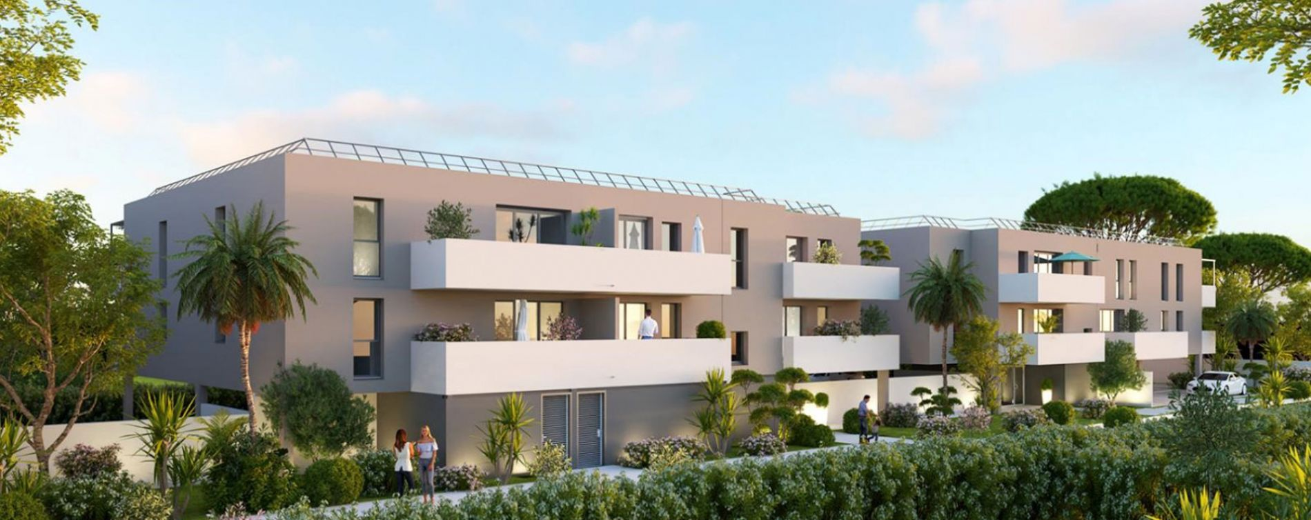 Agde : programme immobilier neuve « Villa Rosalia » en Loi Pinel