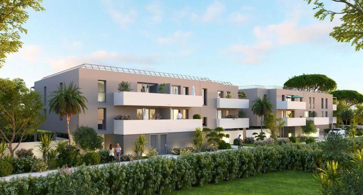 Agde programme immobilier neuf « Villa Rosalia » en Loi Pinel