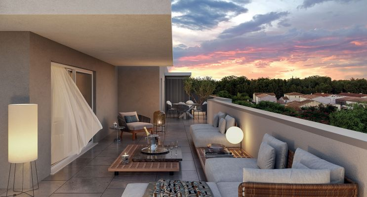 Photo du Résidence « L'imperiale » programme immobilier neuf en Loi Pinel à Baillargues