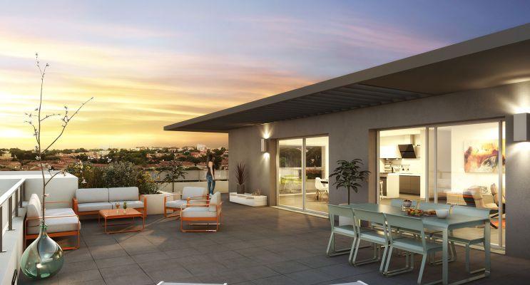 Photo du Résidence « Perles d'Ô » programme immobilier neuf à Béziers