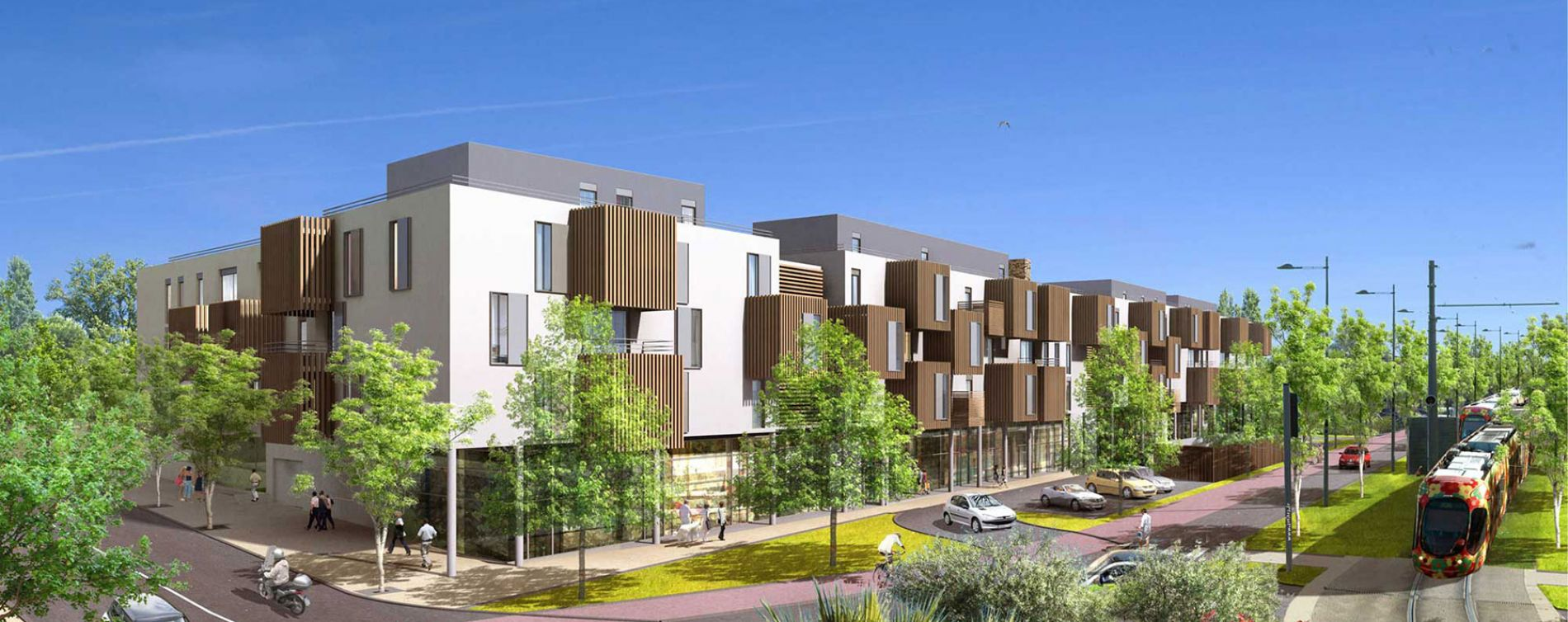 Castelnau-le-Lez : programme immobilier neuve « Carré Aube Rouge » en Loi Pinel