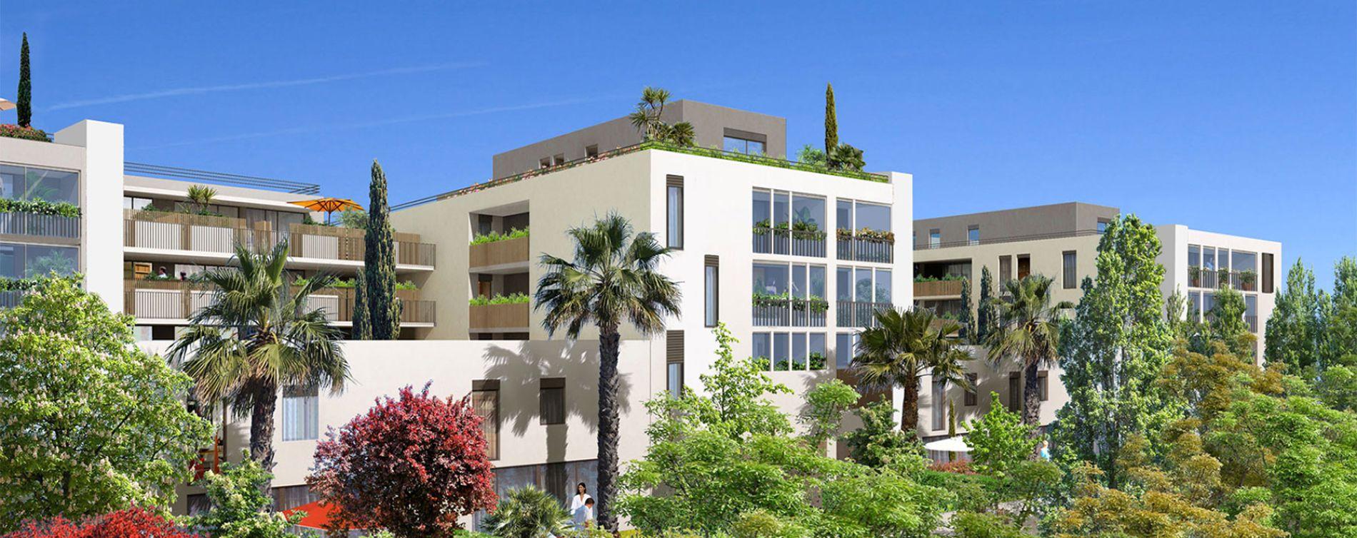 Castelnau-le-Lez : programme immobilier neuve « Carré Aube Rouge » en Loi Pinel (2)