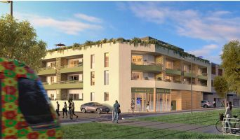 Castelnau-le-Lez : programme immobilier neuf « Castel Art » en Loi Pinel