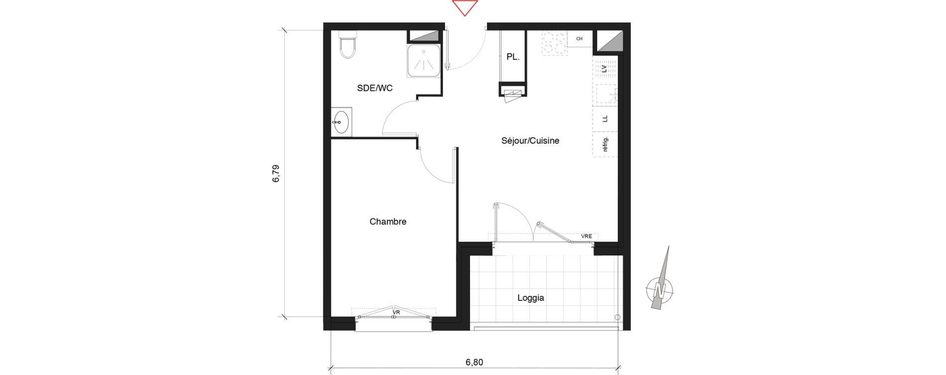 Plan T2 neuf à Castelnau-le-Lez de