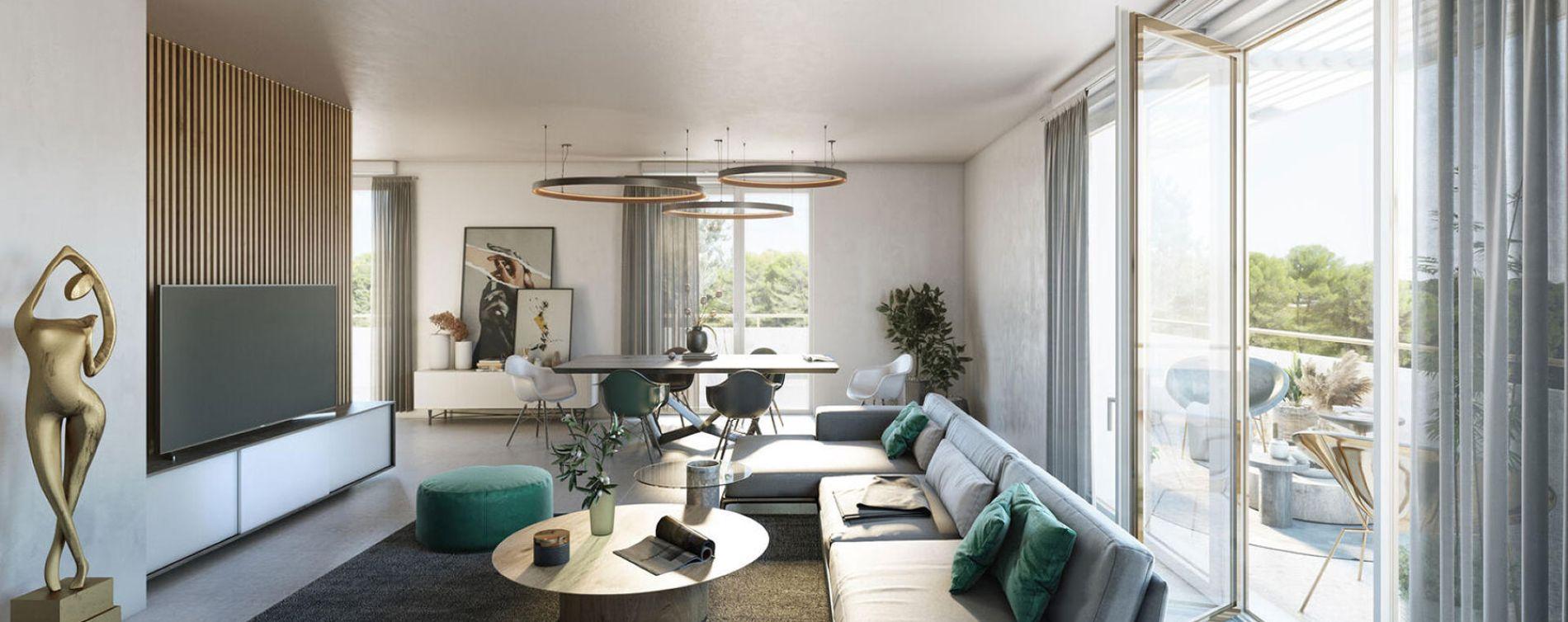 Castelnau-le-Lez : programme immobilier neuve « Programme immobilier n°218870 » en Loi Pinel (5)