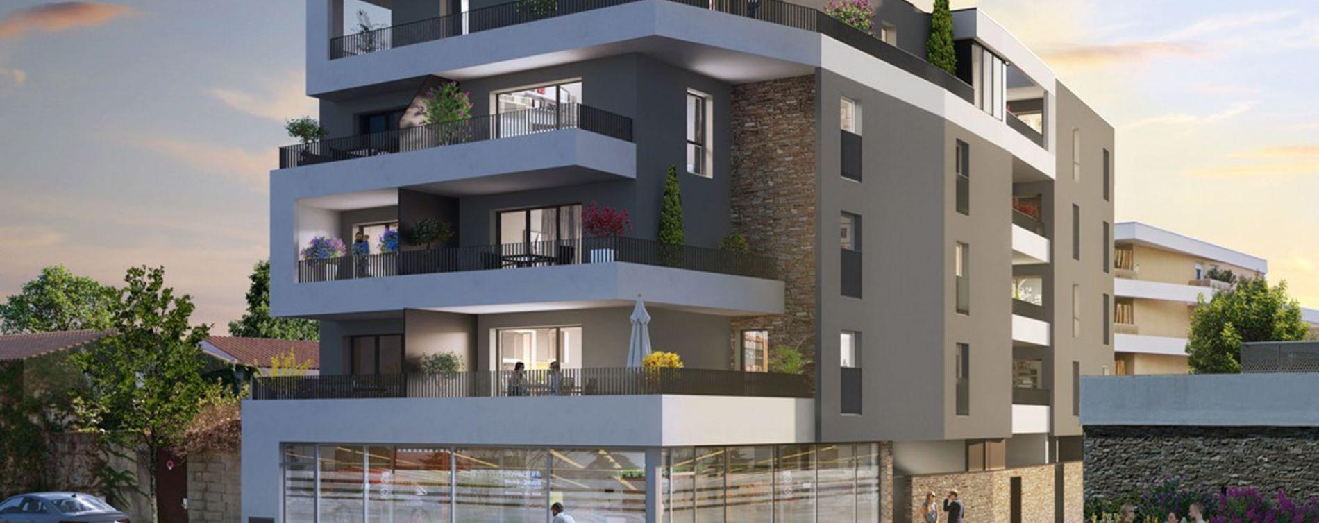 Castelnau-le-Lez : programme immobilier neuve « Programme immobilier n°219306 » en Loi Pinel (3)