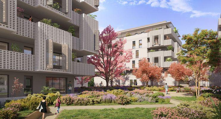 Castelnau-le-Lez : programme immobilier neuf « L'Intemporelle » en Loi Pinel