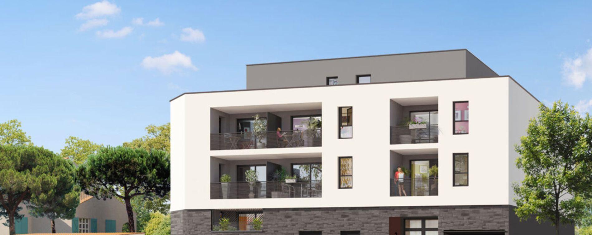 Castelnau-le-Lez : programme immobilier neuve « Programme immobilier n°217505 » en Loi Pinel (2)